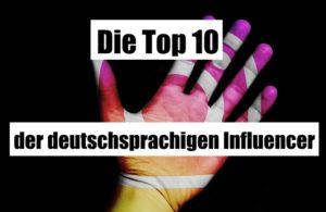Influencer Top10
